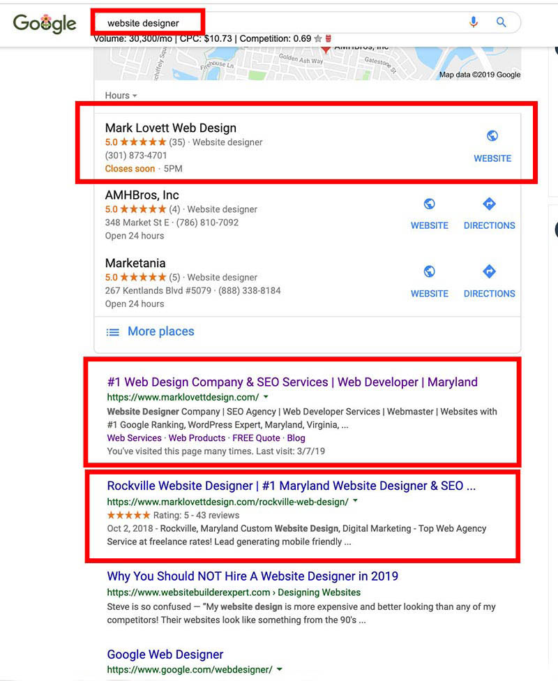 seo-how i rank #1 google