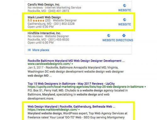 How Top Maryland SEO Company achieves Google First Page for local business